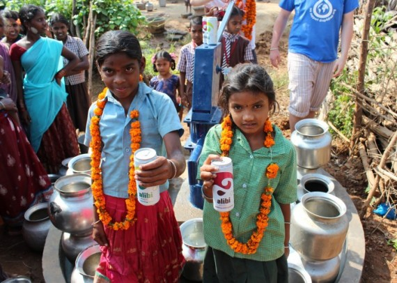 Thanks to Alibi, the children of Mahuta can enjoy clean water