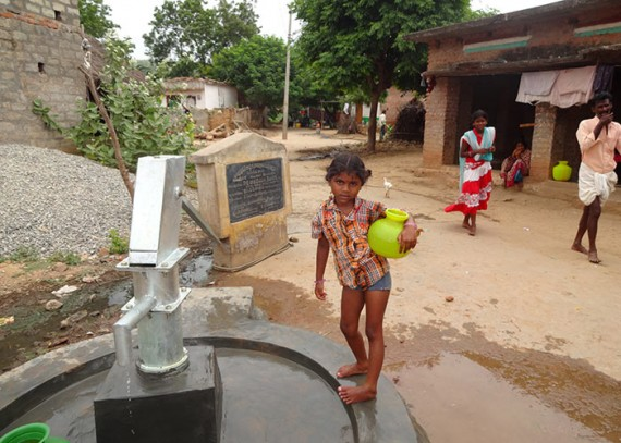 The women and children of Ambedkar Nagar no longer have to spend hours carrying water from distant sources