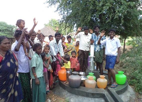 Sirigirpalli community members