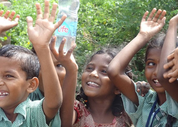 These children now have access to clean, safe water