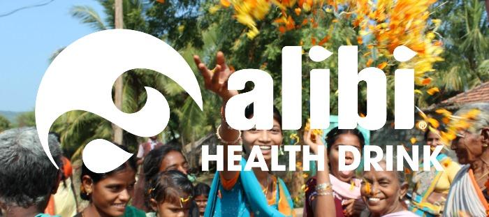 Alibi header for website