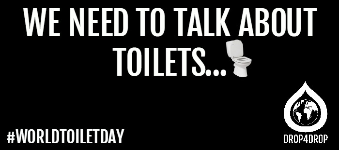 World toilet day blog banner