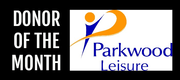 Parkwood donor of the month - blog banner