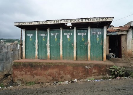 The Kibera slum toilets Source: http://womennewsnetwork.net/2010/12/27/kenya-flying-toilets-women/