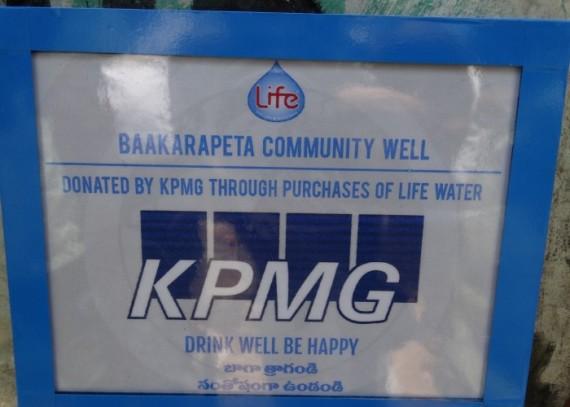 KPMG Plaque