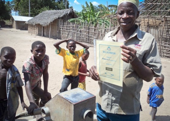 Crussh Mozambique certifcate and community