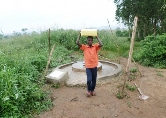 Lawrence Kamoga (11 years old), Kitigi Primary School Student.