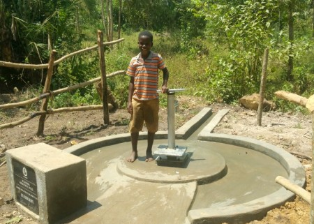 resize Umaru at their  newly constructed well