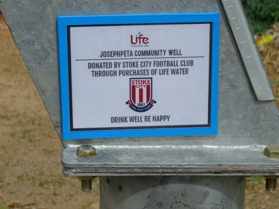 stoke city plaque