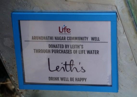 Leiths plaque