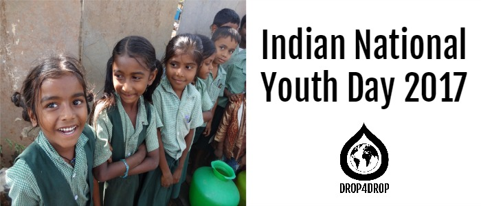 DROP4DROP - Indian Youth Day 2017!