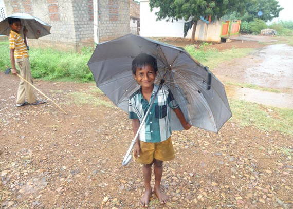 Young boy from the Z. Kothapalli community