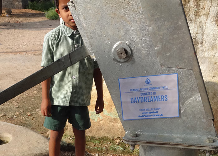Thanks to Daydreamers, the people of Prabhalaveedu can enjoy fresh, safe water