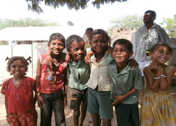 The children of Ganganapalli Harijana Wada
