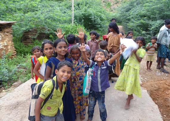 The children of Nagisettipalli
