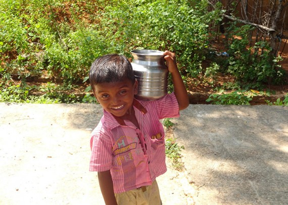 The women and children of Ramireddypalem no longer have to spend hours carrying water from distant sources
