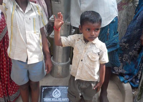 The women and children of Mallavaram no longer have to spend hours carrying water from distant sources