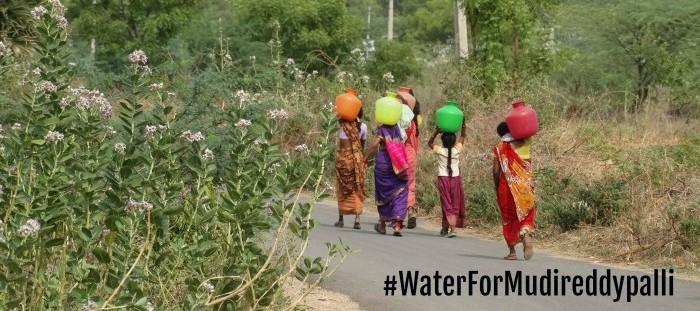 water for mudireddypalli