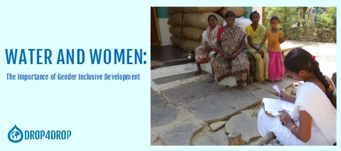 blog header water and women