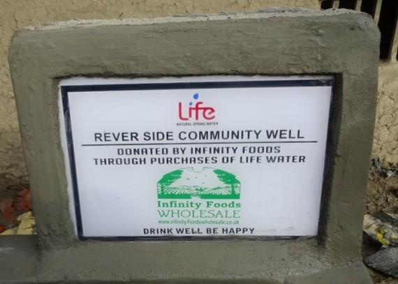 riverside plaque
