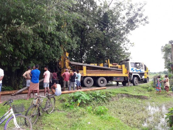 Baraik Jhora Drilling is goung on